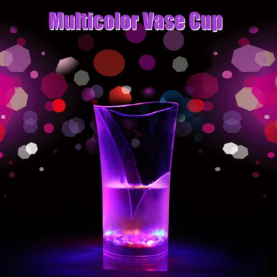 Water Activated Flashing LED Vase Cup Drinkware