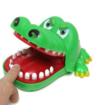 Xincheng Evil Biting Finger Crocodile Classic Trick Game Educational Toy Family Party Toy