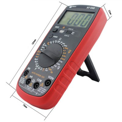 ФОТО BEST BT-58B LCD Digital Multimeter