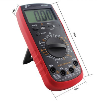 ФОТО BEST BT-890C+ LCD Digital Multimeter