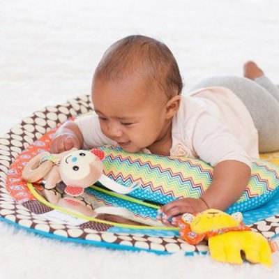 Фотография Infant Tummy Time Musical Mat Water Resistant Blanket