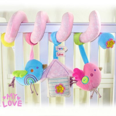 Bird Style Crib Rattle DIY Hanging Decoration