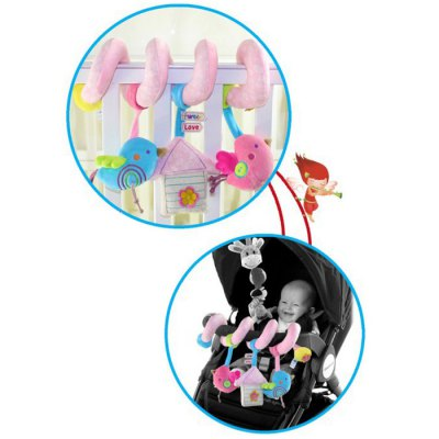 Cute Bird Style Crib Rattle Musical Hanging Decoration от GearBest.com INT