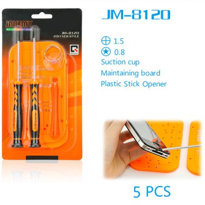 JAKEMY JM-8120 6 in 1 Screwdriver Kit Repair Tool