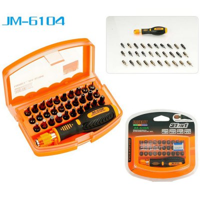 JAKEMY JM-6104 31 in 1 Screwdriver Set Repair Tool