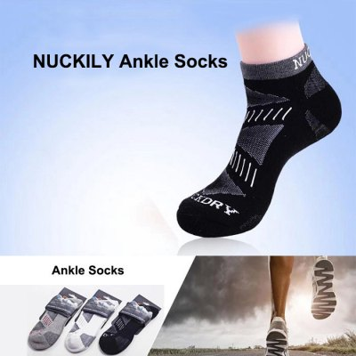 NUCKILY Unisex Cotton Thickened Ankle Socks