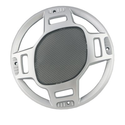 MP-1509147 Car 10.6 inches Subwoofer GrillCar Ornaments &amp; Pendant<br>MP-1509147 Car 10.6 inches Subwoofer Grill<br><br>Type: Other Decorations<br>Model  : MP-1509147<br>Material  : Plastic<br>Color  : Silver<br>Special function  : Dust<br>Product weight   : 0.142 kg<br>Package weight   : 0.235 kg<br>Product size (L x W x H)  : 27.2 x 27.2 x 2.2 cm / 10.69 x 10.69 x 0.86 inches<br>Package size (L x W x H)  : 28.5 x 28.5 x 3.5 cm / 11.20 x 11.20 x 1.38 inches<br>Package Contents: 1 x MP-1509147 Car 10.6 inches Subwoofer Grill