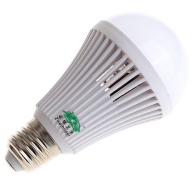 Zweihnder E27 8W 600LM SMD 2835 LED Light BulbLED Light Bulbs<br>Zweihnder E27 8W 600LM SMD 2835 LED Light Bulb<br><br>Brand : Zweihnder<br>Holder: E27<br>Type: Ball Bulbs<br>Output Power: 8W<br>Emitter Types: SMD 2835<br>Total Emitters: 25<br>Luminous Flux: 600Lm<br>CCT/Wavelength: 3000-3500K, 5500-6000K<br>Voltage (V): AC 220-240<br>Angle: 180 degree<br>Features: Energy Saving, Long Life Expectancy<br>Function: Studio and Exhibition Lighting, Home Lighting, Commercial Lighting<br>Available Light Color: Warm White, White<br>Sheathing Material: ABS<br>Product Weight: 0.090 kg<br>Package Weight: 0.140 kg<br>Product Size (L x W x H): 12 x 6.5 x 6.5 cm / 4.72 x 2.55 x 2.55 inches<br>Package Size (L x W x H): 13 x 7.5 x 7.5 cm / 5.11 x 2.95 x 2.95 inches<br>Package Contents: 1 x Zweihnder E27 Light Bulb