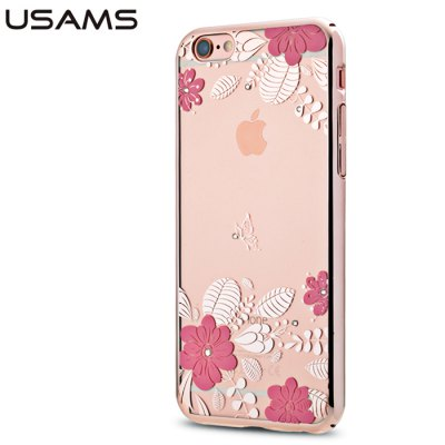 USAMS Blossom Pattern Protective Case for iPhone 6S PlusiPhone Cases/Covers<br>USAMS Blossom Pattern Protective Case for iPhone 6S Plus<br><br>Brand: USAMS<br>Compatible for Apple: iPhone 6S Plus<br>Features: Back Cover, Anti-knock<br>Material: PC<br>Style: Diamond/Rhinestone Decorated Case, Transparent<br>Color: Multi-Color<br>Product weight : 0.016 kg<br>Package weight : 0.072 kg<br>Product size (L x W x H): 15.8 x 7.9 x 0.8 cm / 6.21 x 3.10 x 0.31 inches<br>Package size (L x W x H) : 18 x 9.5 x 1.8 cm / 7.07 x 3.73 x 0.71 inches<br>Package contents: 1 x Protective Case