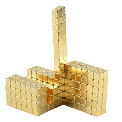 5mm Square Magnetic Block - 216Pcs