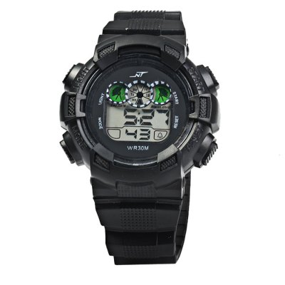 ФОТО NT LED Sports Watch Day Date Display Water Resistance