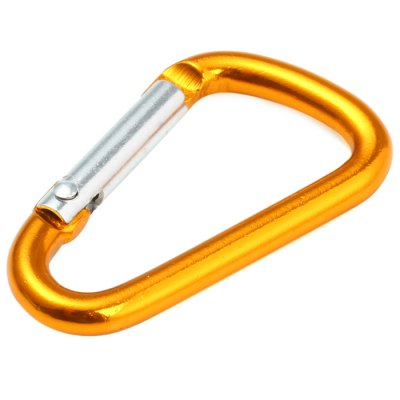 D-shaped Carabiner with Anodised Technology SurfaceCarabiner<br>D-shaped Carabiner with Anodised Technology Surface<br><br>Material: Aluminum Alloy<br>Best Use: Backpacking, Hiking, Mountaineering, Climbing<br>Product Weight: 0.002 kg<br>Package Weight: 0.023 kg<br>Product Dimension: 3.8 x 2.2 x 0.4 cm / 1.49 x 0.86 x 0.16 inches<br>Package Dimension: 4.0 x 2.5 x 0.7 cm / 1.57 x 0.98 x 0.28 inches<br>Package Contents: 1 x D-shaped Carabiner