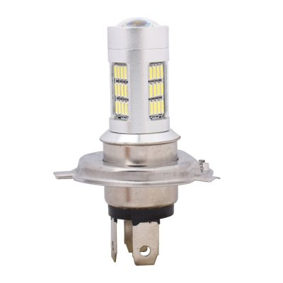 MZ H4-4014-42SMD 8W Car LED HeadlightCar Lights<br>MZ H4-4014-42SMD 8W Car LED Headlight<br><br>Type   : Fog Lights, Headlights, Daytime Running Lights<br>Connector: H4<br>LED type: SMD 4014<br>LED/Bulb quantity: 42<br>Feature: Low Power Consumption, Easy to use<br>Emitting color : White<br>Color temperature: 6500K<br>Voltage : 12V<br>Power : 8W<br>Lumens: 420lm<br>Type of lamp-house : LED<br>Apply lamp position: External Lights<br>Product weight   : 0.025 kg<br>Package weight   : 0.055 kg<br>Product size (L x W x H)  : 7.2 x 4.7 x 1.8 cm / 2.83 x 1.85 x 0.71 inches<br>Package size (L x W x H)  : 12 x 8 x 5 cm / 4.72 x 3.14 x 1.97 inches<br>Package Contents: 1 x LED Light