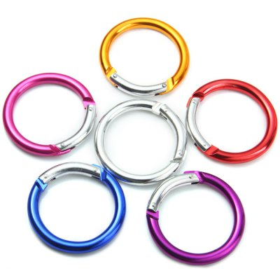 Round-shaped Aluminum Alloy Carabiner
