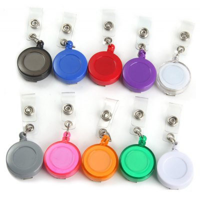 Small Badge Reel + Back Clip + Covered Button