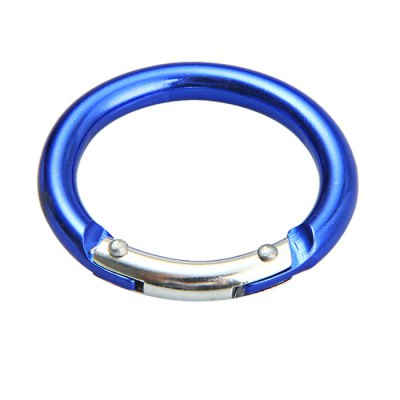 Small Round Carabiner Aluminum Alloy Made