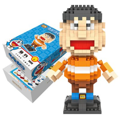 LOZ 370Pcs XXL - 9808 Doraemon Takeshi Gian Building Block Toy for Enhancing Social Cooperation Ability