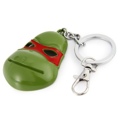 Ninja Turtles Series Mask Style Key Chain Ring