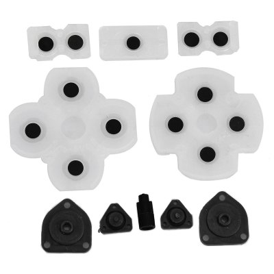 Silicone Key Set Key Cap Button for PS4