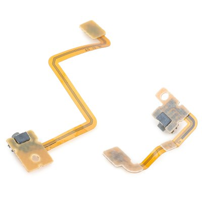 Replacement L + R Micro Switch Ribbon Cable Module for Nintendo 3DSGame Accessories<br>Replacement L + R Micro Switch Ribbon Cable Module for Nintendo 3DS<br><br>Compatible with: 3DSL<br>Features: Cable<br>Product Weight: 0.005 kg<br>Package Weight: 0.085 kg<br>Product Size: 4.4 x 1.5 x 0.3 cm / 1.73 x 0.59 x 0.12 inches<br>Package Size: 5 x 2 x 1 cm / 1.97 x 0.79 x 0.39 inches<br>Package Contents: 1 x L Button Micro Switch Ribbon Cable Module, 1 x R Button Micro Switch Ribbon Cable Module