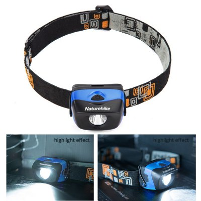 NatureHike 3 Modes 122LM LED Head Lamp IPX6 Waterproof