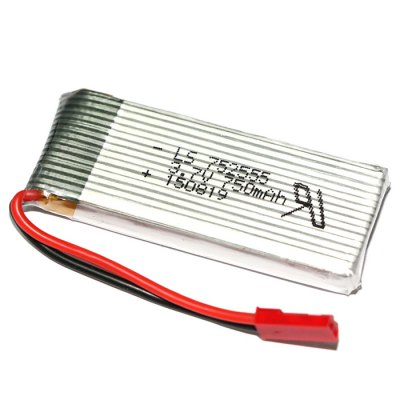 25C 3.7V 750mAh Battery with Protection Board