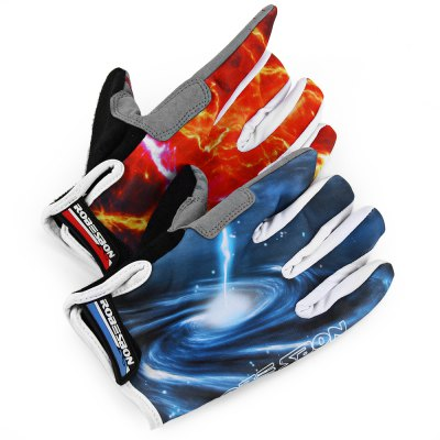 Robesbon Full Finger Touch Screen Cycling Bicycle Gloves