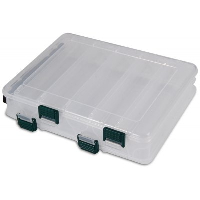 Portable Double Side Fishing Tackle Bait Box