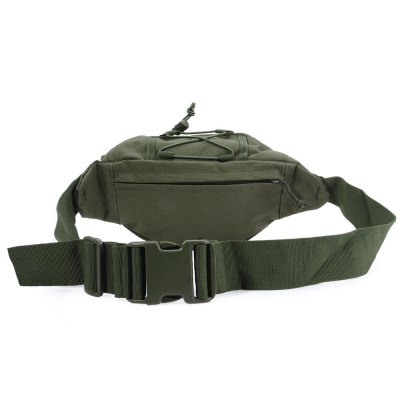 Outdoor Military Tactical Waist Pack for Camping CyclingPacks<br>Outdoor Military Tactical Waist Pack for Camping Cycling<br><br>For: Travel, Cycling, Mountaineering<br>Material: Nylon, Oxford<br>Oxford Material: 600D Oxford<br>Color: Khaki, Army Green, CP, Black<br>Product weight   : 0.294 kg<br>Package weight   : 0.424 kg<br>Product size (L x W x H)   : 35 x 18 x 7 cm / 13.76 x 7.07 x 2.75 inches<br>Package size (L x W x H)  : 36 x 19 x 8 cm / 14.15 x 7.47 x 3.14 inches<br>Package Contents: 1 x Multifunctional Outdoor Waist Bag