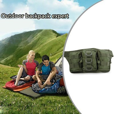 Military Tactical Waist Bag with Oxford Water-resistant Fabric