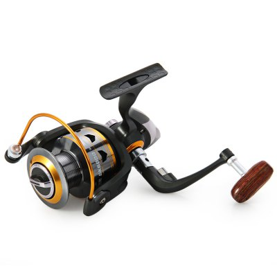 DK - 6000 Spinning Fishing Reel 11BBs 5.2 : 1Fishing Reels and Rods<br>DK - 6000 Spinning Fishing Reel 11BBs 5.2 : 1<br><br>Type: Spinning Reels<br>Fishing Method: Spinning<br>Gear Ratio: 5.2 : 1<br>Material: Aluminium<br>Reel Handle Type: Foldable<br>Reel Handle Side: Exchangable<br>Color: Gray<br>Product weight: 0.393 kg<br>Package weight: 0.497 kg<br>Package size (L x W x H): 7.20 x 11.50 x 11.50 cm / 2.83 x 4.53 x 4.53 inches<br>Package Contents: 1 x DK - 1000 Fishing Spinning Reel Light Weight 11BBs Reel Fly