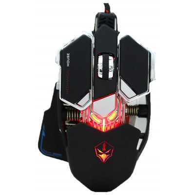 G10 4000 DPI Optical USB Wired Mechanical Gaming Mouse