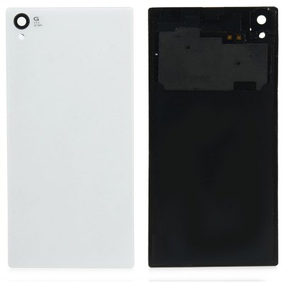 Battery Door Glass Back Housing Cover Case with NFC for Sony Xperia Z1