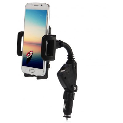 Car Charger Phone Holder Mount