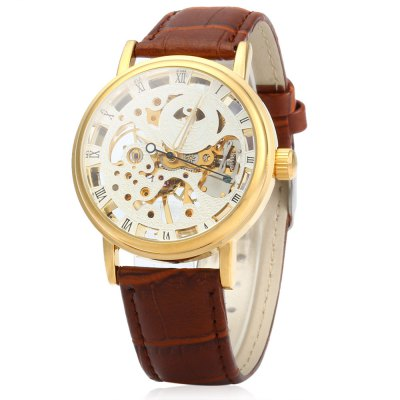 SEWOR Men Hollow Mechanical Watch
