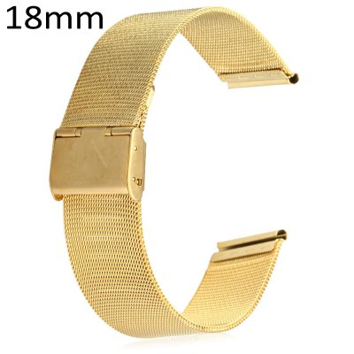 18mm Stainless Steel Mesh Watch Strap