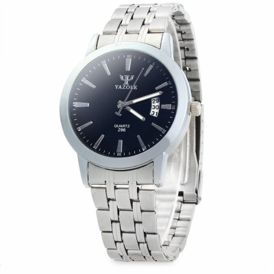 YAZOLE 296 Stainless Steel Band Quartz Watch