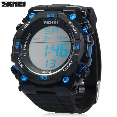 Skmei 1130 Men Sports Digital Watch