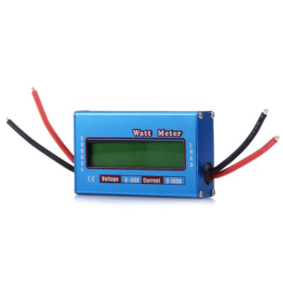 60V 100A Battery Balance Voltage Power Analyzer Watt Meter
