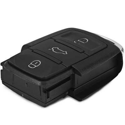 Фотография JHBQ654 3 Buttons Entry Keyless Remote Fob Shell Cover Case for Volkswagen Golf Jetta Beetle
