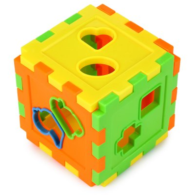Kids Colorful Block Matching Sorting Intelligence Training Box