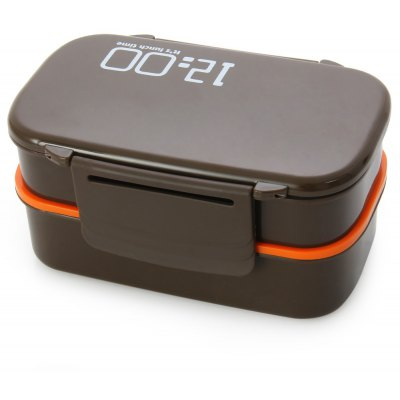 Japan Style Double Tier Lunch Box