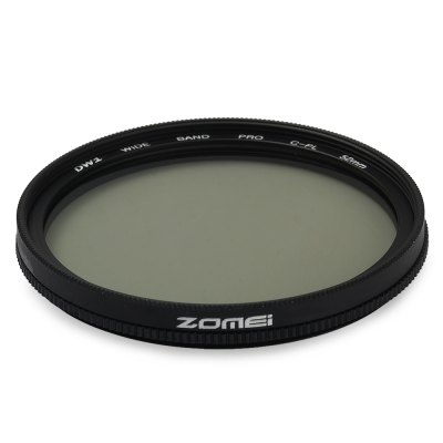 Zomei 52mm CPL Circular PolarizerZomei 52mm CPL Circular Polarizer<br><br>Brand: Zomei<br>Size: 52mm<br>Type: CPL Filter<br>Product weight: 0.020 kg<br>Package weight: 0.102 kg<br>Product size (L x W x H): 5.472 x 5.472 x 0.468 cm / 2.15 x 2.15 x 0.18 inches<br>Package size (L x W x H): 11 x 11 x 1.8 cm / 4.32 x 4.32 x 0.71 inches<br>Package contents: 1 x 52mm Slim CPL for DSLR Camera, 1 x Plastic Case
