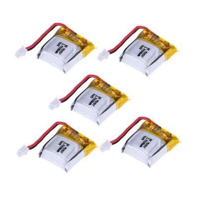 3.7V 100mA Battery 5Pcs / Set
