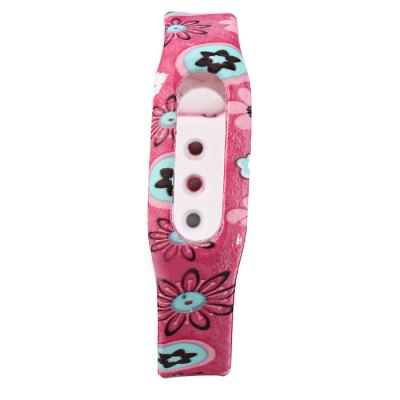 Flower Pattern TPU Strap for Xiaomi Miband / 1S