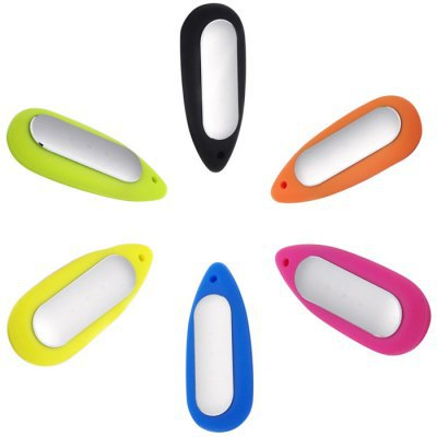 Water Drop-shaped Necklace Pendant Soft Silicone Case for Xiaomi Miband