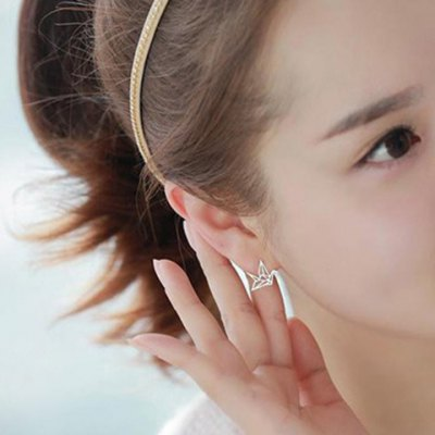 Pair of Solid Color Hollow Out Crane Shape Earrings For WomenEarrings<br>Pair of Solid Color Hollow Out Crane Shape Earrings For Women<br><br>Earring Type: Stud Earrings<br>Gender: For Women<br>Style: Trendy<br>Shape/Pattern: Animal<br>Weight: 0.090KG<br>Package Contents: 1 x Earring(Pair)