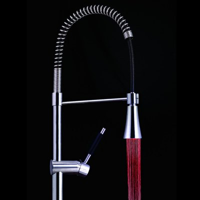7 Colors Changing Glow Kitchen Faucet