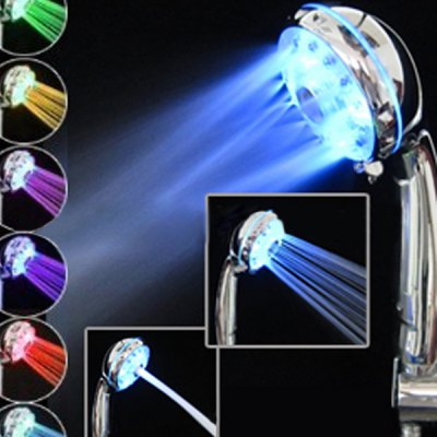7 Colors LED Light Shower Head