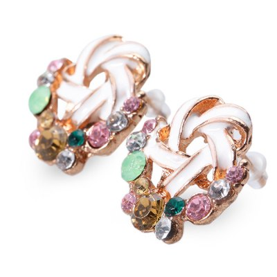 Pair of Sweet Multi Color Hollow Out Stud Earrings for LadiesEarrings<br>Pair of Sweet Multi Color Hollow Out Stud Earrings for Ladies<br><br>Earring Type: Stud Earrings<br>Gender: For Women<br>Metal Type: Alloy<br>Style: Trendy<br>Shape/Pattern: Others<br>Diameter: 1.7CM<br>Weight: 0.01KG<br>Package Contents: 1 x Stud Earring(Pair)